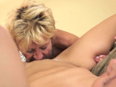 Lesbian granny pussylicking..