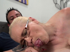 Gran more glasses creampied