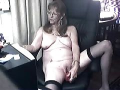 Lovely granny with glasses 4