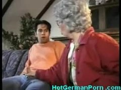 German grandmother catches..