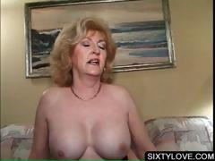 Blonde of age fucking horny..