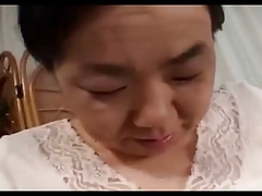 2 Shy Japanese Grannies Fuck..