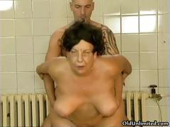 Horny old old woman loves..