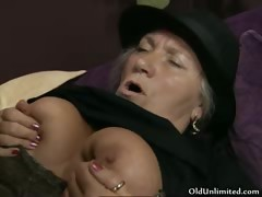 Horny old catholic gets her..