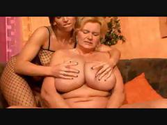Bbw Lesbian Granny And Her..