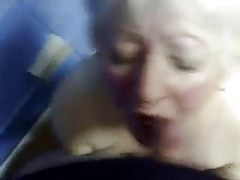 Cumming in mouth of nasty..