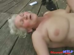 Mature granny realize fucked..