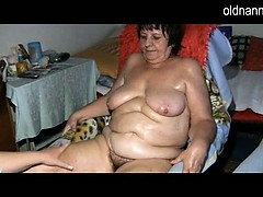 BBW granny and young..