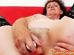 Fat milf dangerous solo