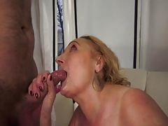 Granniy fucked wits young Stud