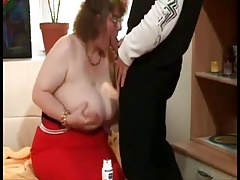 Fat Granny With Huge Boobs
