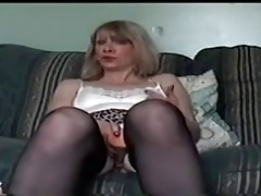 mature granny masturbating..