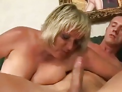 Blonde Mature Gets That..