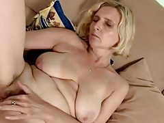 hairy Comme �a Mature with..