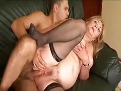 BBW Granny loves some young..