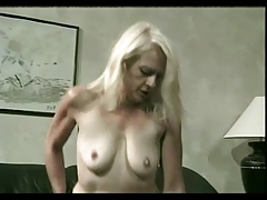 Drizzling Cum On Granny..