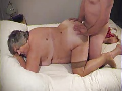 BBW granny doggy together..