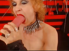 sexy granny dom sucks with..