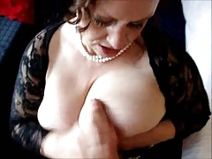 Scottish Mature BBW blowjob..