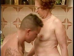 Granny gets fucked less the..