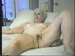 Granny lets you jack off to..