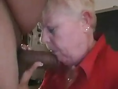Beamy Granny Sucking A Big..