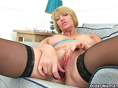 British milf Amy fulfills..