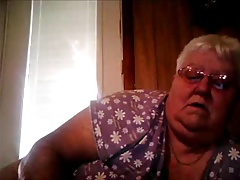 Webcam front from BBW Granny