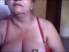 Brazilian granny shows the..