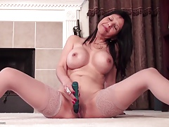 Sexy American mom on..