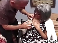 Well-endowed Granny Needs Sex