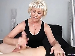 Mature woman jerking elsewhere