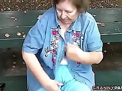 Granny Flashing In Public