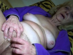 Blonde Granny Loves Sex..