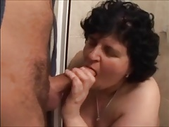 Saggy Tit Granny  Fucked