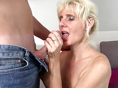 Hot real mom fucked by not..
