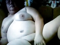 Russian Granny on webcam!..