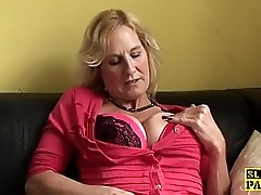 Squirting brit granny..